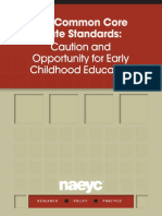 The Common Core State Standards