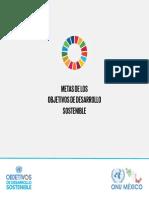Metas de la ONU Sustentabilidad