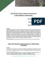 Geotecnologias Livres Aplicadas No Planejamento Territorial