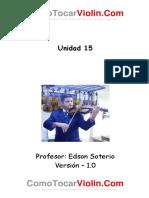 UNIDAD 15 Colocación de Los Dedos 1, 2 y 3 en La Cuerda MI Con El FA SOSTENIDO.pdf