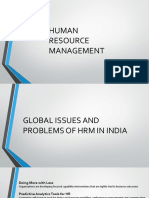 Trending issues with HRM in India