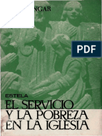 CONGAR, Y. M. J., El Servicio y La Pobreza en La Iglesia, Estela, Barcelona, 1964