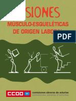 Lesiones Musculoesqueléticas de Origen Laboral