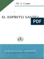CONGAR, Y. M. J., El Espiritu Santo, Herder, 1991