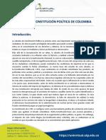 Programa Constitucion Politica