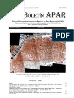 Boletín APAR No 3
