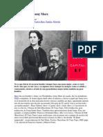Dos Cartas de Jenny Marx