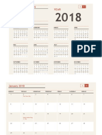 Any Year Calendar With Holidays1