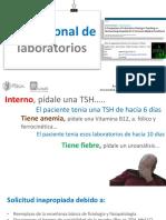 Uso Racional de Laboratorios JULIAN NAVAS