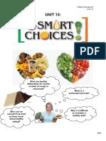 m.) Unit 13 Smart Choices