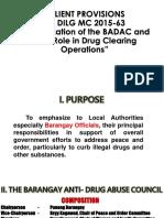 Dilg Mc 2015-63 Revitalization of Badac