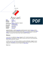 Ascari cars.doc