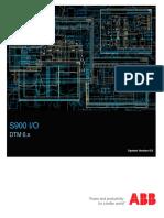 s900 Io Manual Dtm v6-x