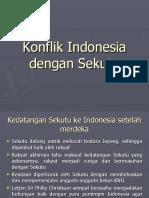 Konflik Indonesia Dengan Sekutu