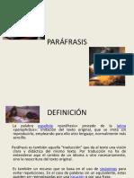 PARÁFRASIS