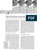 """Artikel über """"Germanische Freunde e.V."""" aus LOTTA #14"""