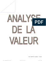 Analyse de a Valeur
