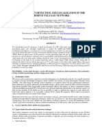 2016 Cepsi - On-line Fault Detection and Localization in Medium Voltage Network