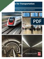 RFS Solutions for Transportation Brochure February 2011