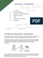 AXE Operation & Maintenance - Ex_001