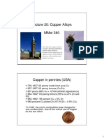 Materials for Engineering 20 - Copper
