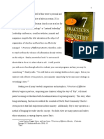 """Critique of """"7 Practices of Effective Ministry"""" by Stanley, Joiner, and Jones"""
