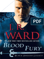J.R.ward. Black Dagger Legacy 3. Blood Fury