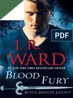 J.R.ward. Black Dagger Legacy 3. Blood Fury