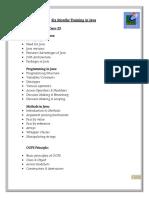 Java Syllabus.doc