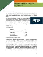 Practica 6.- Preparacion de Una Solucion Inyectable de Vitamina C