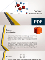 Butano, Analisis Industrial