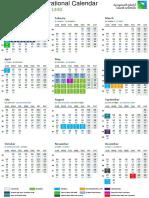 2018 Operational Calendar PDF