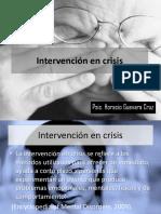 Intervencion en Crisis #