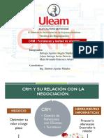 CRM y Su Relación Con La Negociación.
