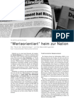 """Werteorientiert"" heim zur Nation LOTTA #15"