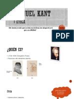 exposición, etica de Kant