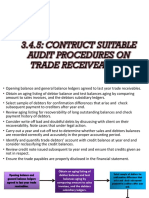 audit - Suitable Procedure (Receiveable)