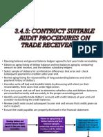 audit - Suitable Procedure (Receiveable)