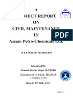 Report on A.P.L
