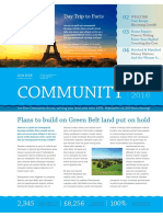 Non-Profit Community Newsletter A4 CS4