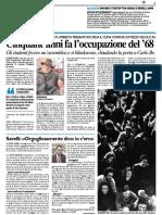 Cinquant'anni fa l'occupazione del '68 - Il Resto del Carlino del 14 febbraio 2018