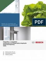 Frigorifico Bosch KGN39XW41 Manual