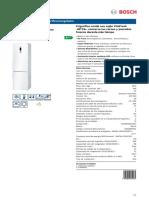 Frigorifico Bosch KGN39XW41