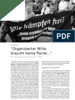"""""""Organisierter Wille braucht keine Partei..."""" - """"Freie Kameradschaftsszene"""" in NRW LOTTA #20"""
