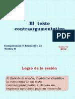 9A-ZZ04 El Texto Contraargumentativo 2017-2 (Diapositivas)