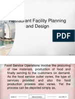 12. Restaurant Facility Planning and Design