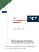 RegulamentulJoculuideHandbalIndoorEditiaIulie2016