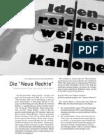 """""""Neue Rechte"""" - Modernisierer der extremen Rechten? LOTTA #20"""