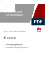 OEB204700 ENodeB LTE V100R006 Local Commissioning ISSUE 1.00