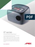 XT Series CPAP Brochure